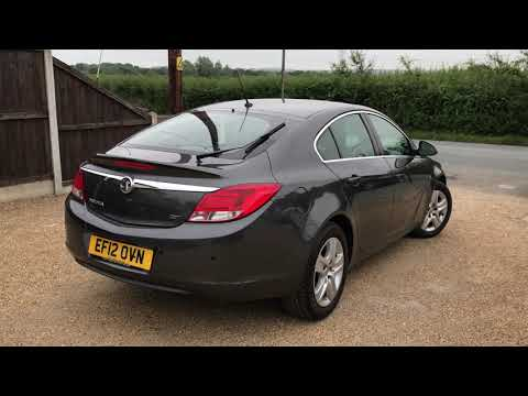 2012 VAUXHALL INSIGNIA 2.0 EXCLUSIV CDTI FOR SALE | CAR REVIEW VLOG