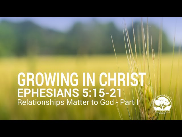 Life Church of Orange CA - Thursday April 4, 2021 - Relationships Matter to God, Part 1