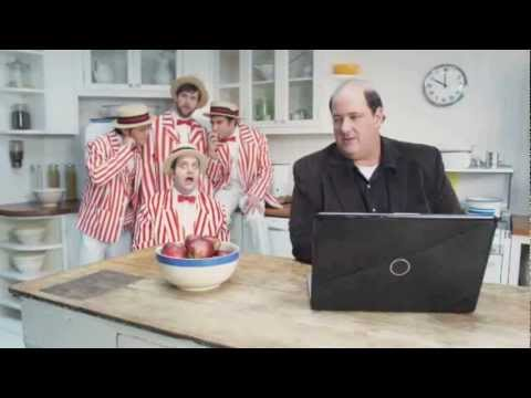 MSN commercial with Brian Baumgartner