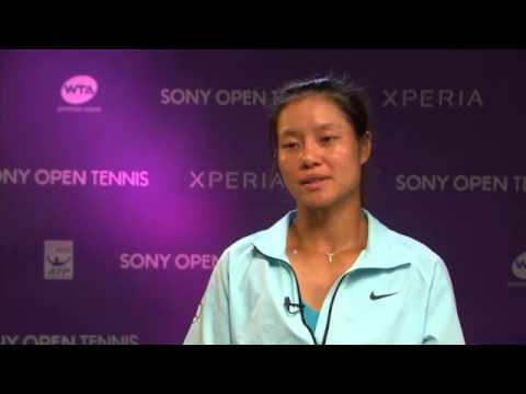Sony Open Tennis Interview with Li Na 3-29