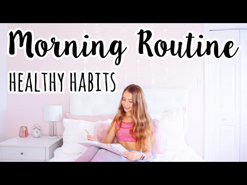 Life Changing Morning Routine Habits (easy + healthy)