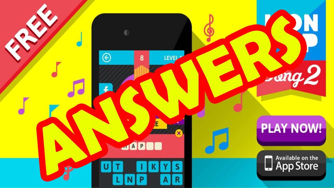 4 Pics 1 Song Cheats - Answers Level 2