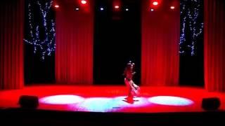 Смотреть видео Готик трайбл фьюжн,  Антонина Титовец, концерт памяти Леонида Игнатенкова, Москва, 19 ноября 2016 онлайн