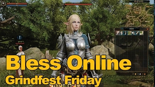 Bless Online Gameplay (Dungeon Run) Grindfest Friday #3 - MMOs.com