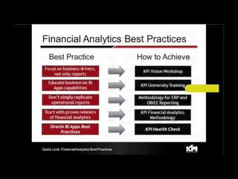 Webinar: Oracle Financial Analytics Case Study featuring McDonalds ...