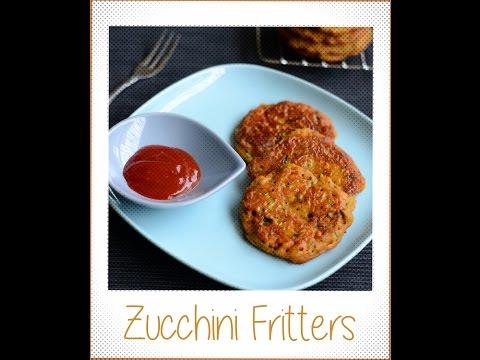 Zucchini fritters recipe Gluten free