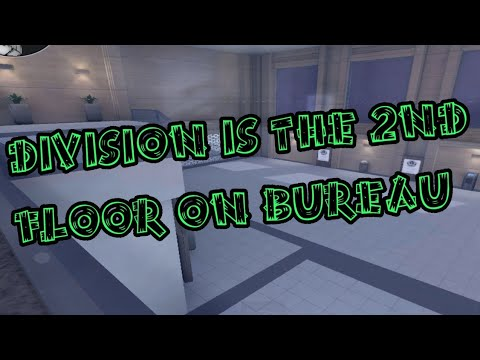 OMG! Division is the 2nd floor on BUREAU!!