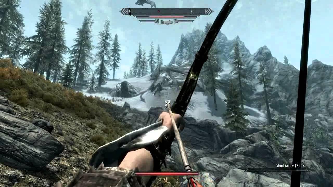 Image result for skyrim gameplay
