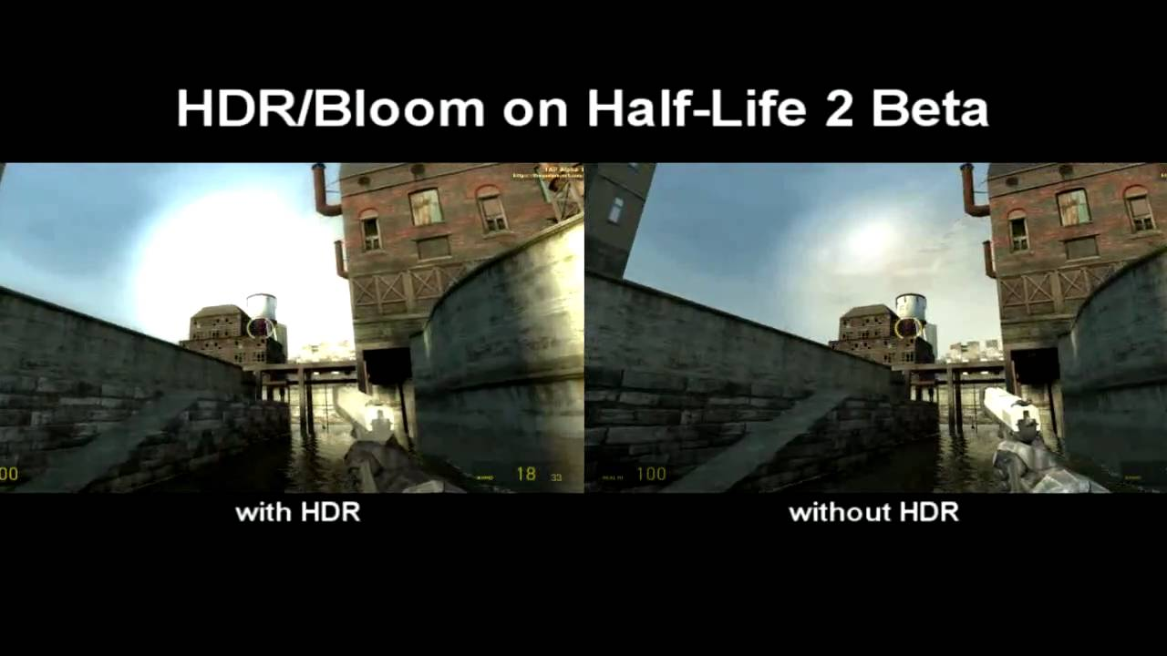 Pubg Hdr Vs No Hdr: HDR/Bloom Test On Half-Life 2 Beta