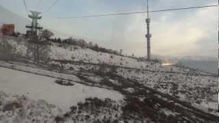 Фуникулер на Коктёбе. Алматы. Зима 2013
