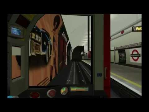 OpenBVE Central Line  Ealing Broadway - Liverpool Street