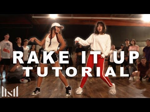 """RAKE IT UP"" - Yo Gotti ft Nicki Minaj Dance TUTORIAL 