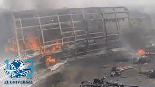 Se eleva cifra de muertos por accidente en autopista Veracruz-Puebla
