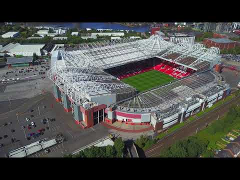 Manchester United Old Trafford Stadium and Nearby Aerial View [4K] new https://youtu.be/rsKEe6aBg_0