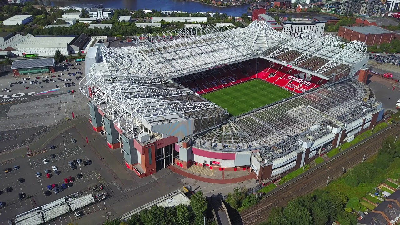 Image result for old trafford top view