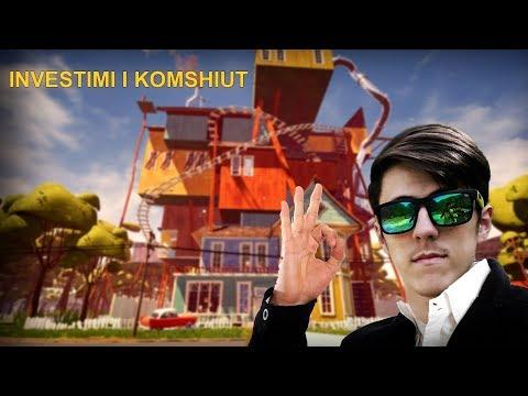 FARUKI KA INVENSTU NE SHPIN E TI ( Hello Neighbor Shqip #3 )