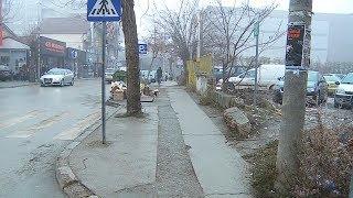 Qytetarët ankohen për gjendjen e trotuareve - 16 JANAR 2020 - RTV TEMA