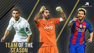Football Team Of The Season 2016/2017