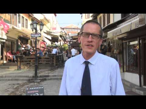 Watch Ambassador Charles Garrett from the British Embassy Skopje talk about the UK's