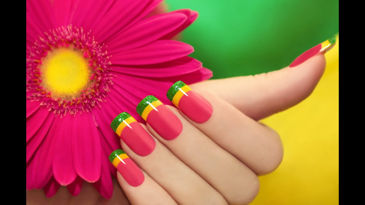 nail polish design ideas easy nail art designs for beginners youtube