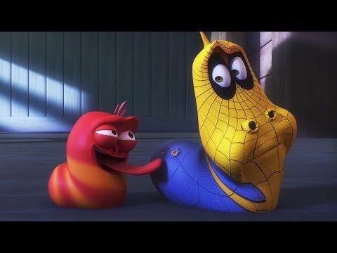 larva---spider-man-larva-|-cartoon-|-cartoons-voor-kinderen-|-larva-officieel