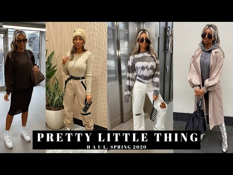 PRETTY LITTLE THING SPRING 2020 TRY ON HAUL | Asher Mary-Lou