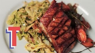 Crispy Pork Belly With Leeks & Pancetta | Feed My Friends S2e8/8