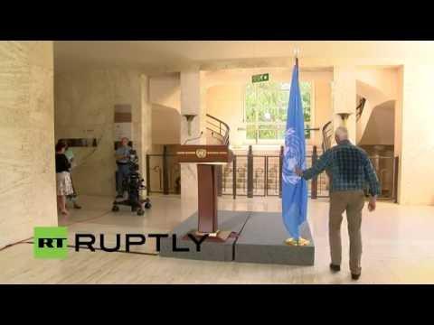 LIVE: De Mistura to speak following peace talks on Syria