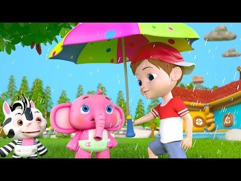 Rain Rain Go Away | Best Sing Along Songs & Nursery Rhymes For Kids | Cartoons By Little Treehouse