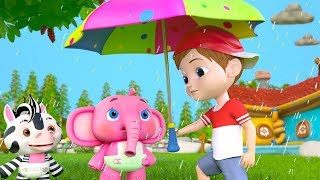 Rain Rain Go Away | Best Sing Along Songs & Nursery Rhymes for Kids | Cartoons by Little Treehouse