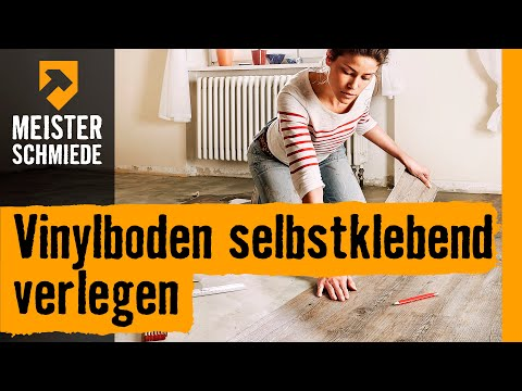 vinylboden selbstklebend verlegen hornbach meisterschmiede youtube. Black Bedroom Furniture Sets. Home Design Ideas
