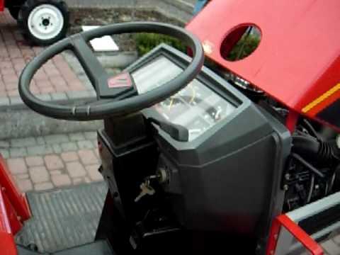 Yanmar 165F Traktor ogrodowy.  www.traktorki.waw.pl