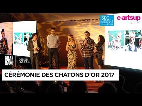 Cérémonie des Chatons d'or 2017