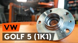 Instalação Kit rolamento roda VW GOLF V (1K1): vídeo grátis