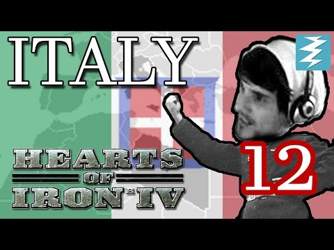 CARRIER HAS ARRIVED [12] Italy - Hearts of Iron IV HOI4 Paradox Interactive