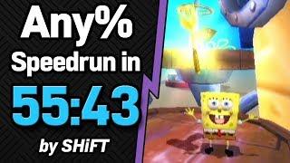 SpongeBob SquarePants: Battle for Bikini Bottom Any% Speedrun in 55:43 (WR on 8/10/2018)