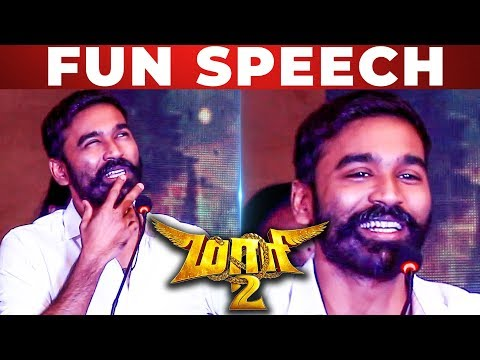"""Dhanush Na Controversy Tha""- Dhanush Funny Speech at Maari 2 Press Meet 