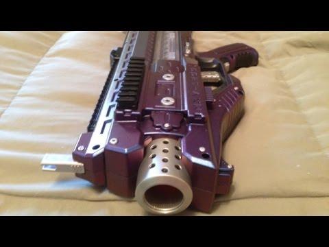 "The ""Galaxy Gun"": Nerf Rival Zeus Mod"