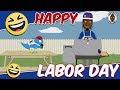 Cartoon Charlie - HaHaliday - Labor Day