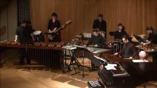 NIU Percussion Ensemble - John Bergamo - The Grand Ambulation of the B-Flat Zombies