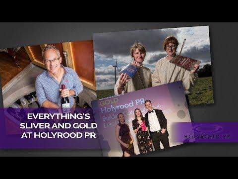 Edinburgh pr agency paint the media gold with PR stories & awards | Holyrood PR Agency in Edinburgh