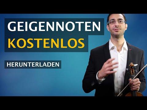 Geigennoten kostenlos herunterladen: Die 5 besten Websites (noten für violine kostenlos/Geige)