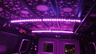 How to install LED strip lights in your van (12 volts for work or living)