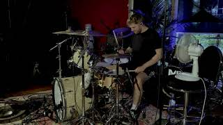 Green Day Hitchin' a Ride drum cover