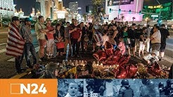Massenmord in Las Vegas: Trauer in der Spielerstadt und neue Diskussionen um das Waffenrecht