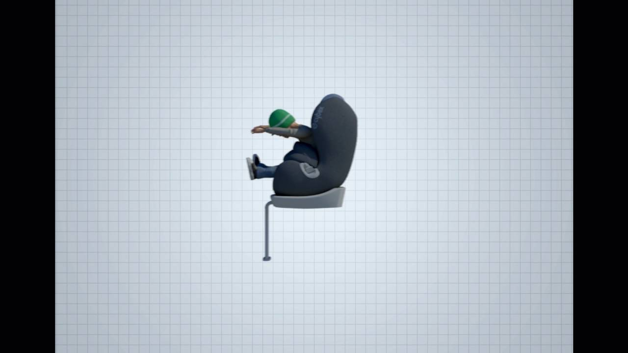 CYBEX child safety technologies - impact shield - YouTube a02353f5d9
