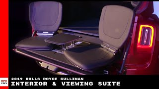 2019 Rolls Royce Cullinan Interior & Viewing Suite Explained