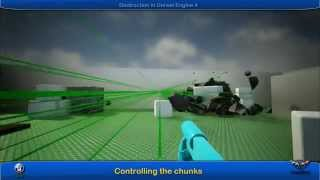 UE4 Destruction -  Fun With Chunks