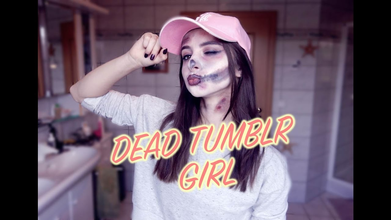 dead tumblr girl halloween