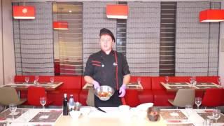Готовим салат с рукколой и вялеными томатами